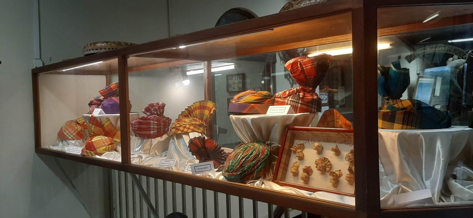 Tradiční Guadeloupské pokrývky hlavy