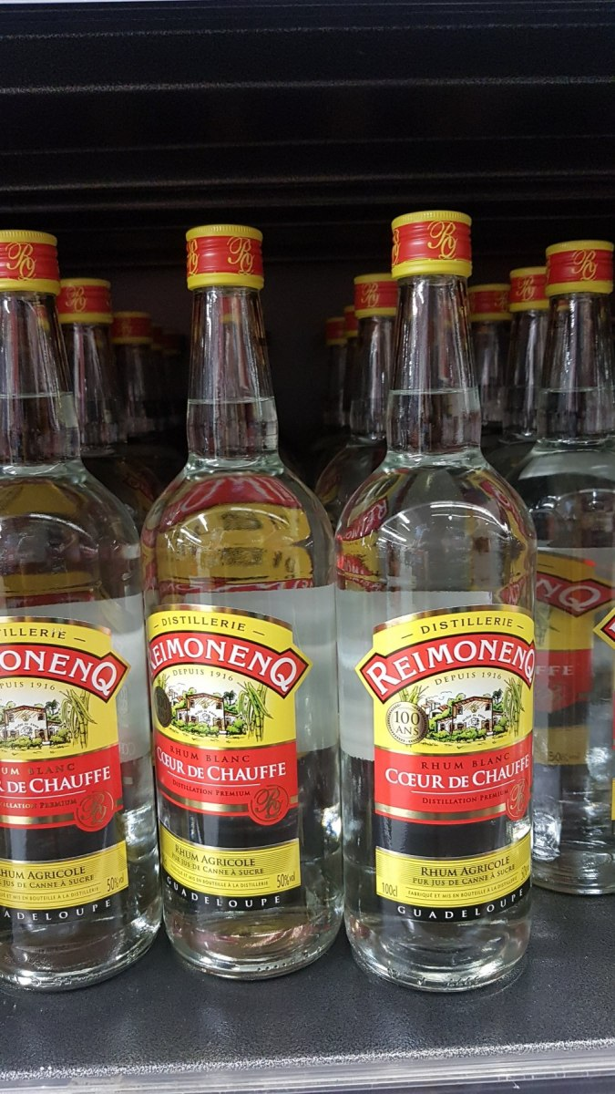 Bílý rum Reimonenq