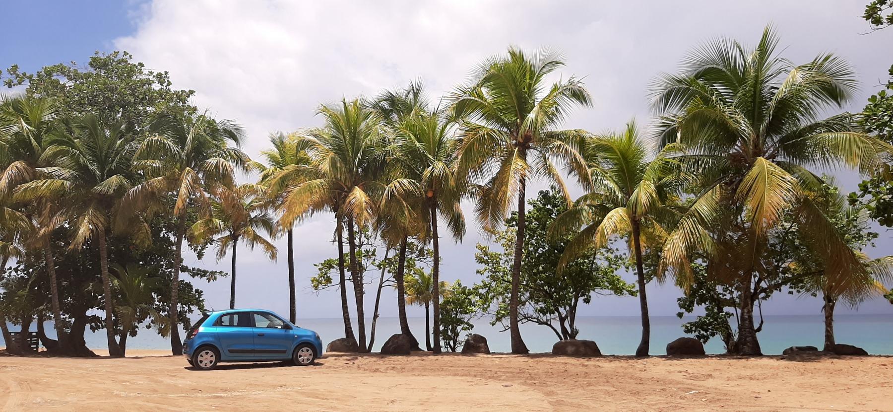 Naše autíčko u nejoblíbenější pláže