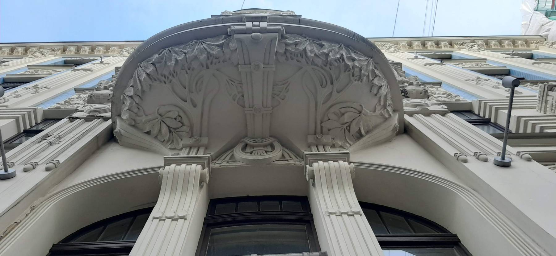 Secesní balkon