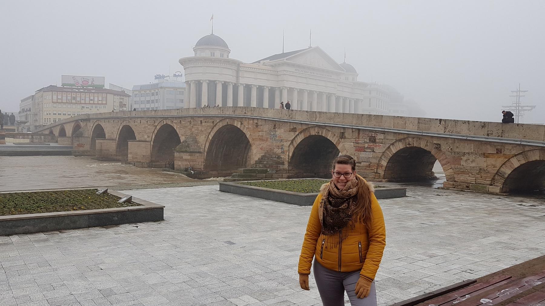 Starý most přes řeku Vardar