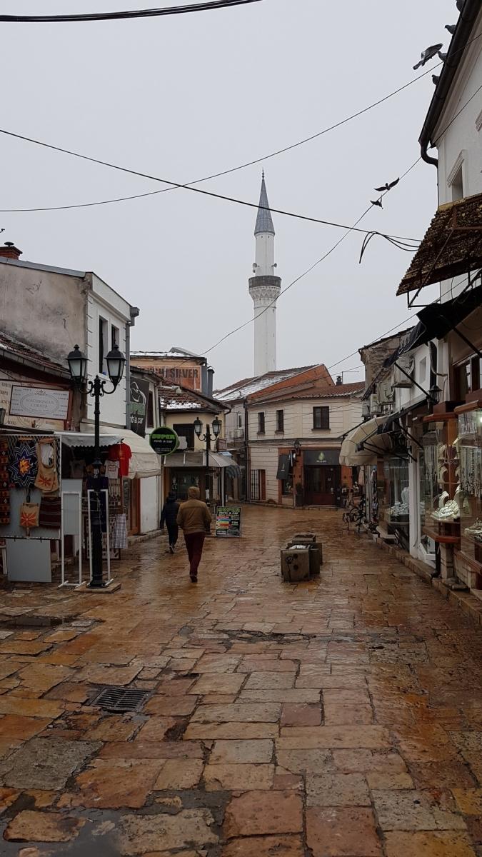 Stara čaršija a mešita