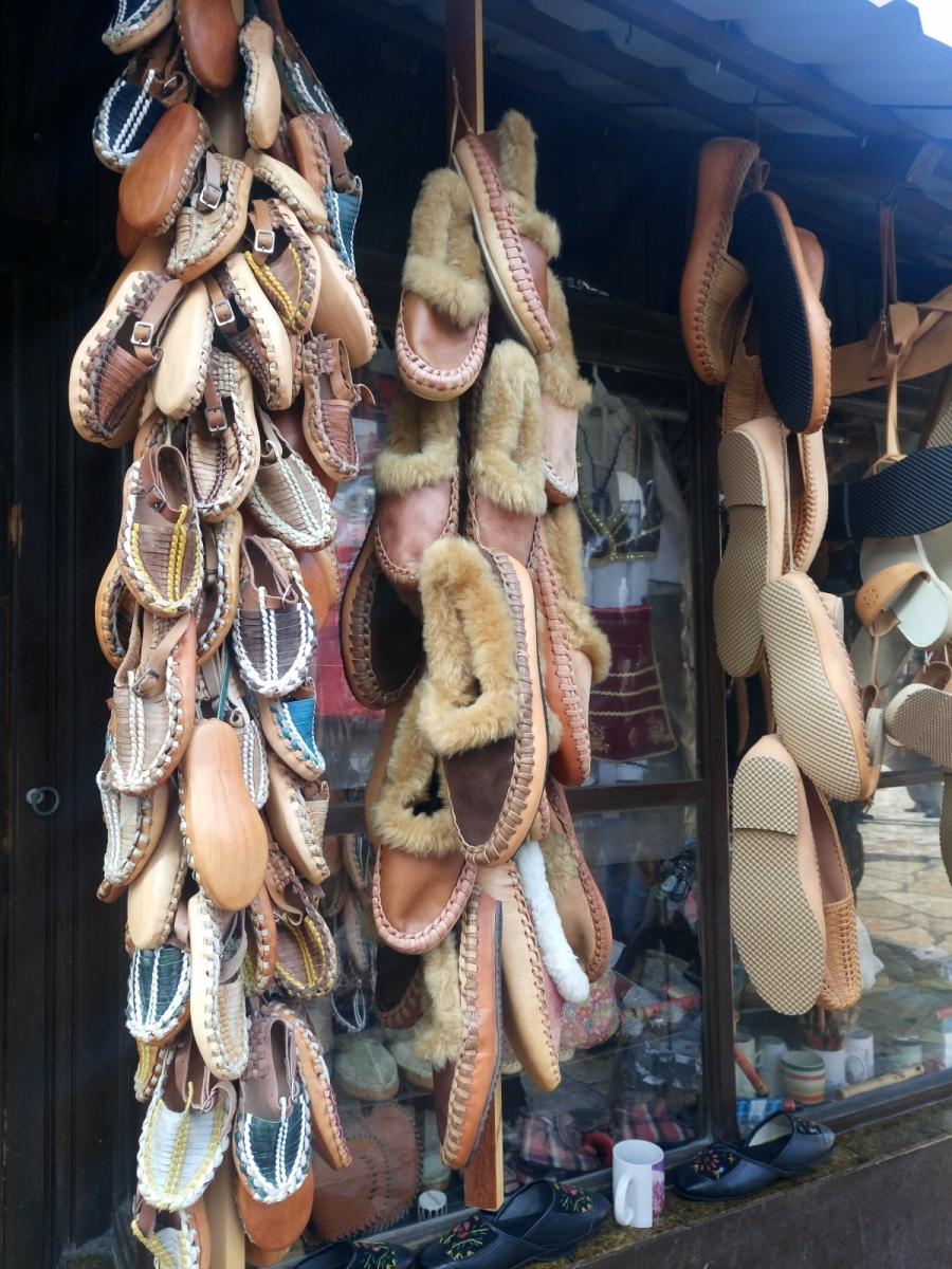 Tradiční obuv