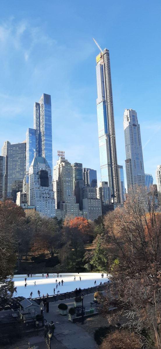 Pohled z Central Parku