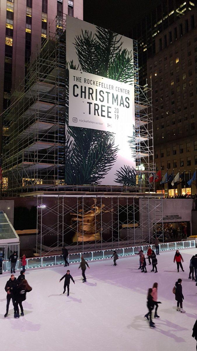 Vánoční strom u Rockefellerova centra