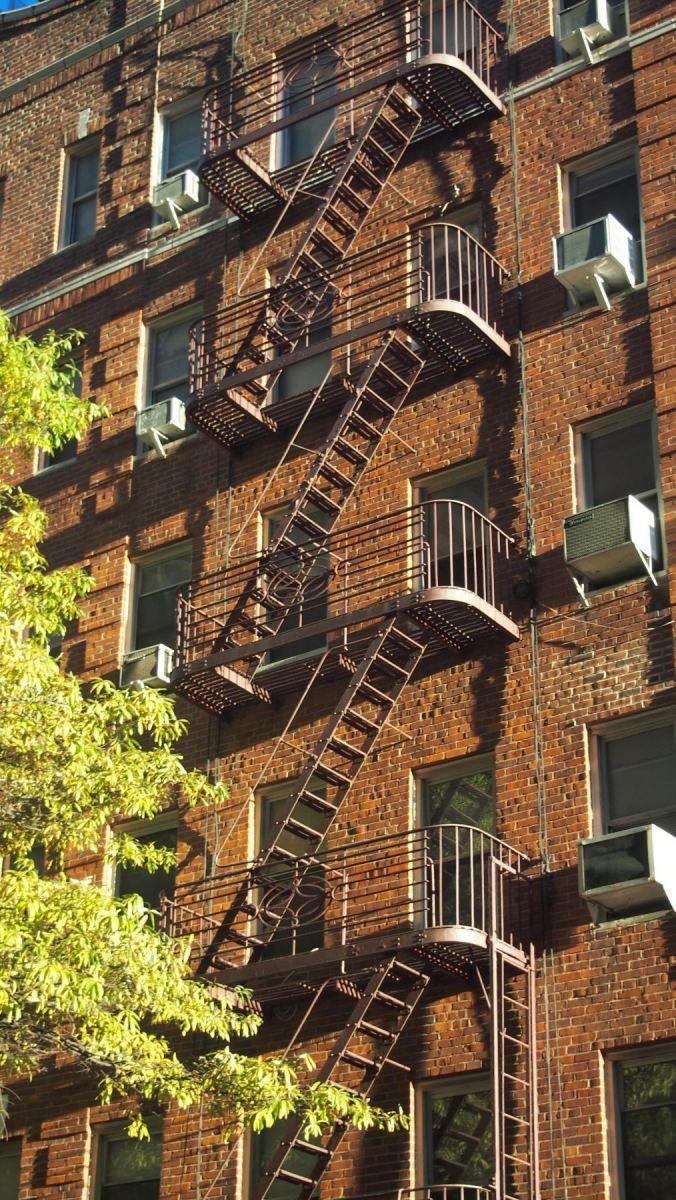 New Yorksý únikový žebřík