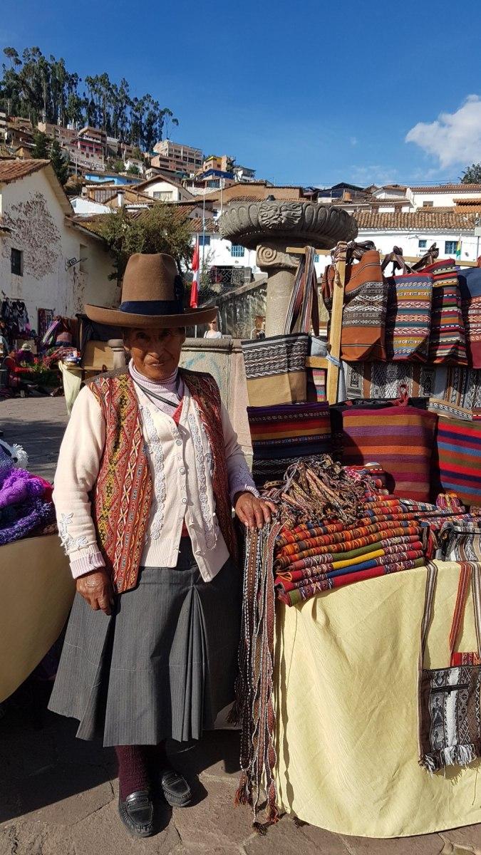 Peruánská indiánka