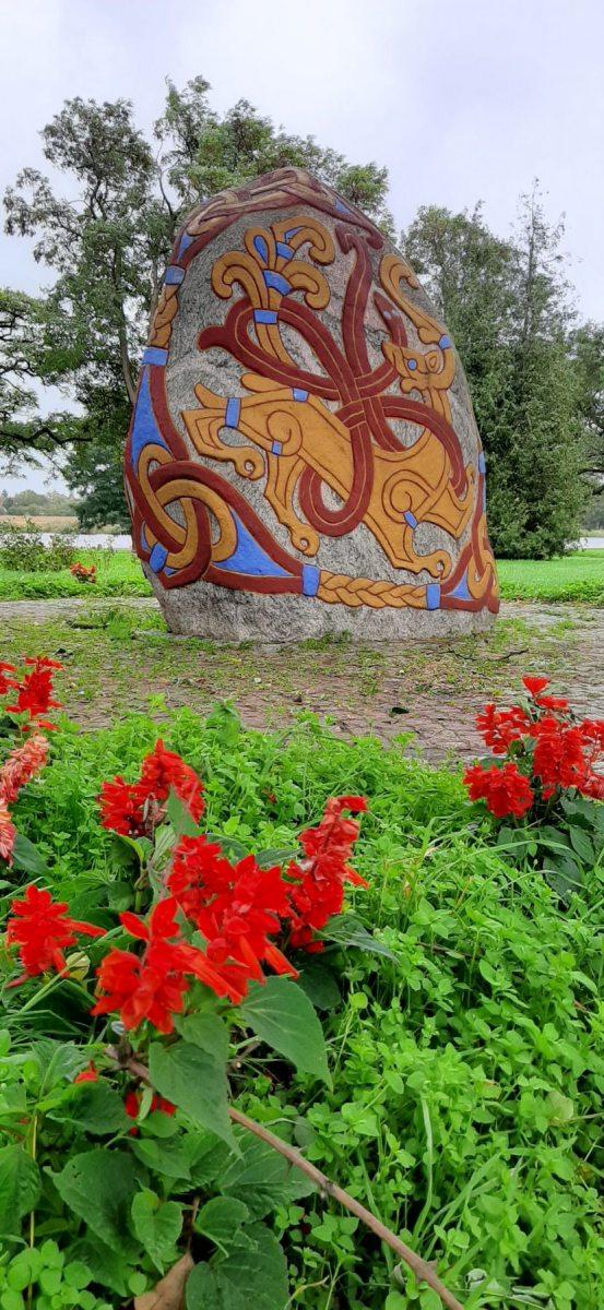 Památný kámen dánského krále Haralda Modrozuba