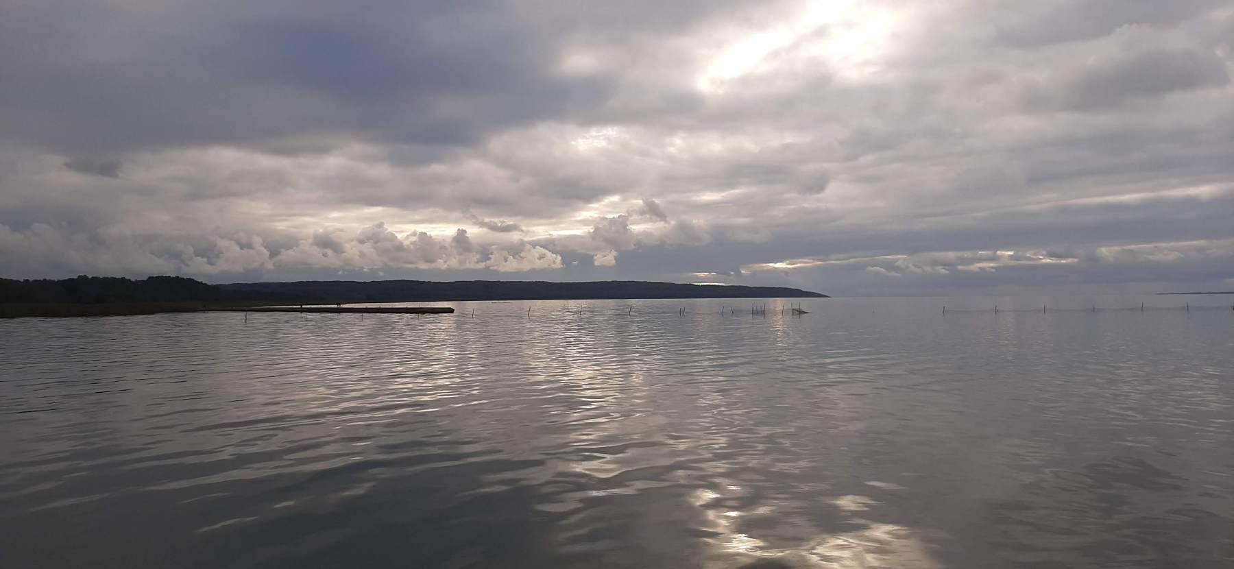 Pohled na Baltské moře z Fromborku