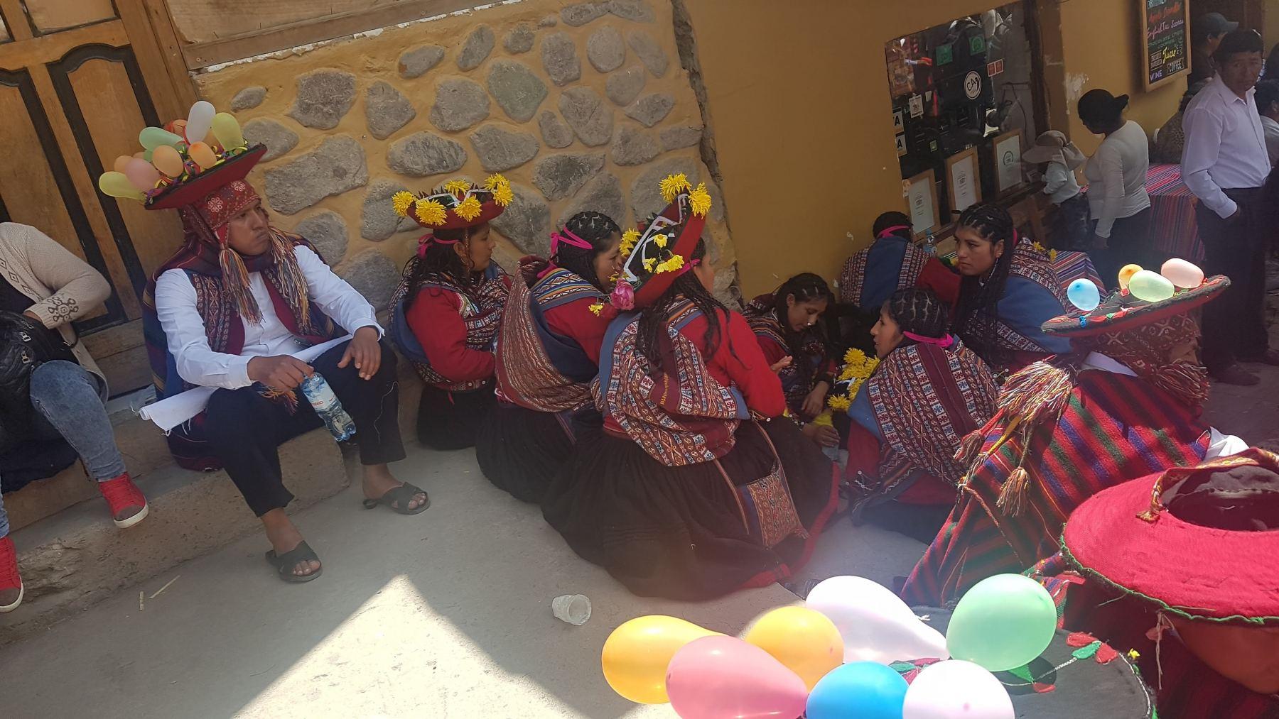 Den města v Ollantaytambu