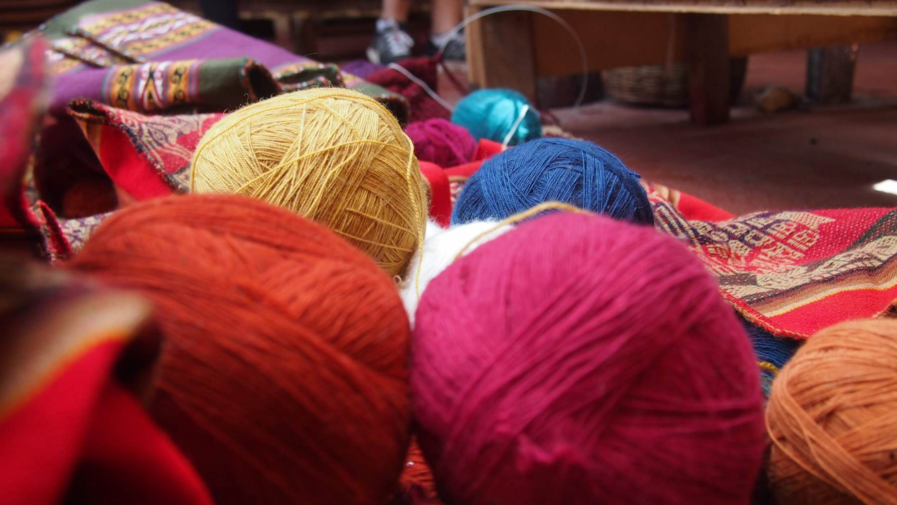 Prodejna a výrobna textilií, Chinchero
