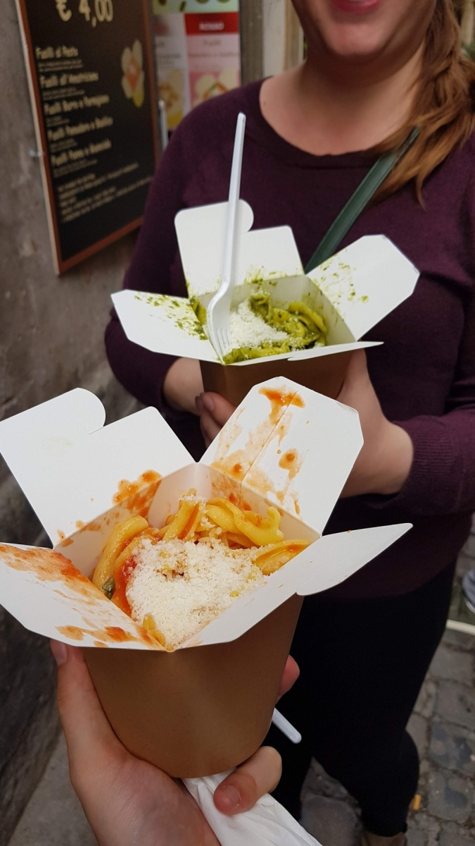 Italské těstoviny do ruky