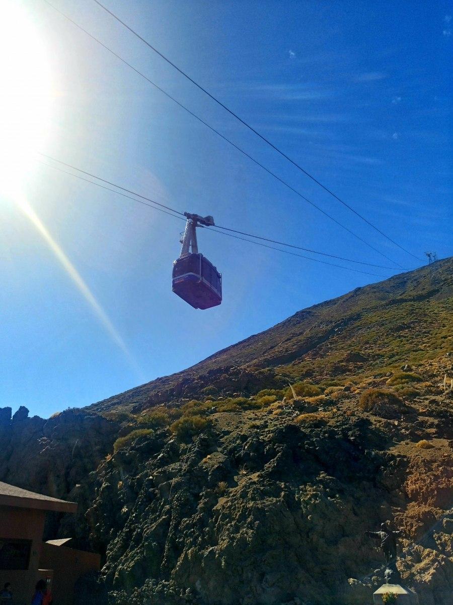 Lanovka na Pico del Teide