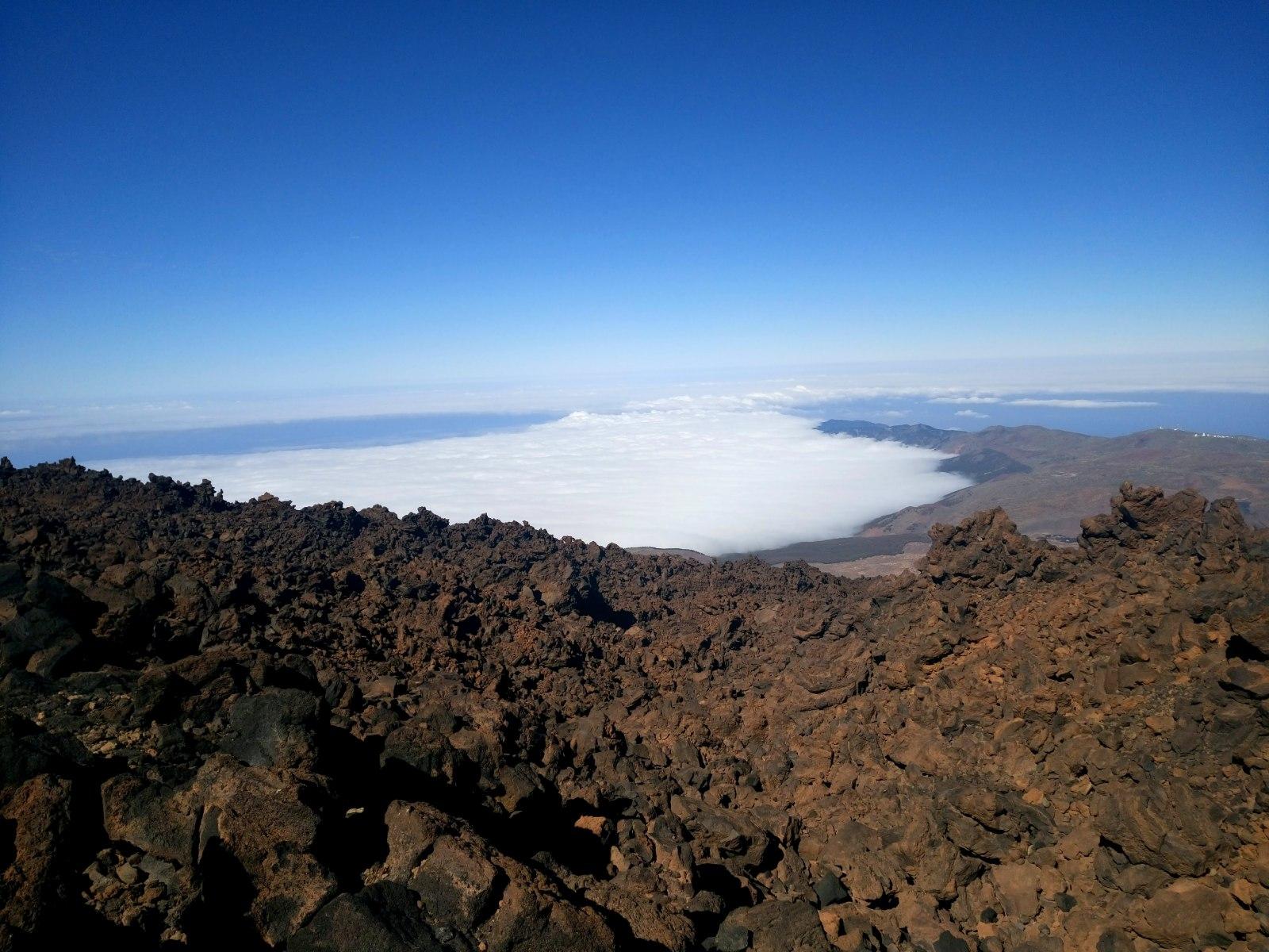 Pohled na ostrov z Pico del Teide
