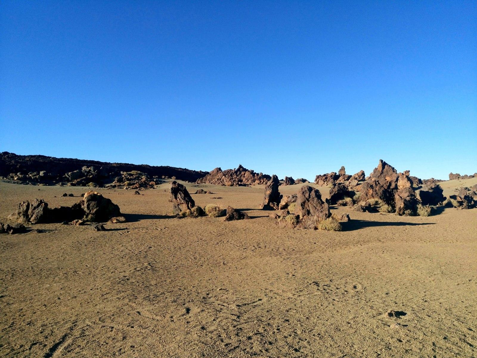 Pohled do caldery Las Cañadas