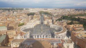 Vatikán, Náměstí sv. Petra, Řím, Itálie