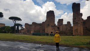 Caracallovy lázně, Řím, Itálie