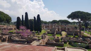 Ostie, Řím, Itálie, vykopávky, bývalý přístav