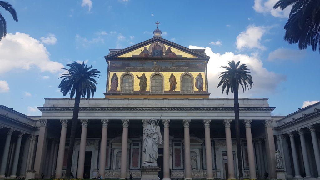Basilica Papale San Paolo fuori le Mura, Řím, Itálie
