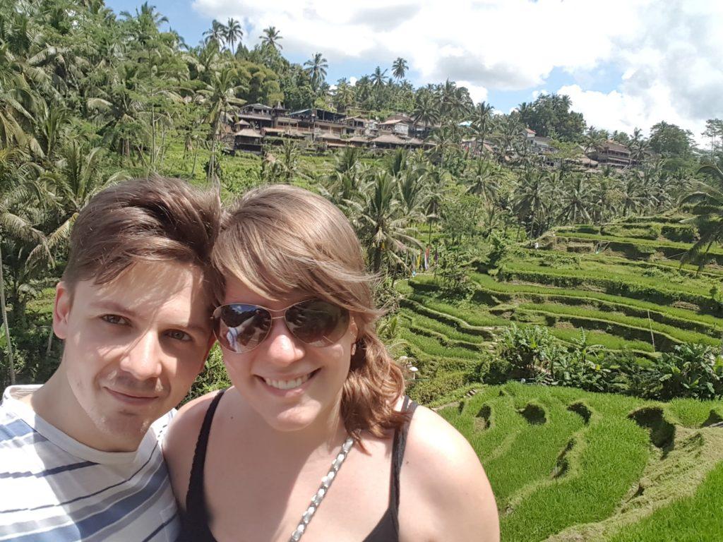 Pištělákovi na Bali Tegalalang