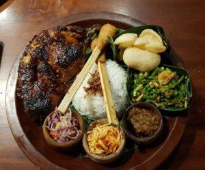 jídlo na Bali