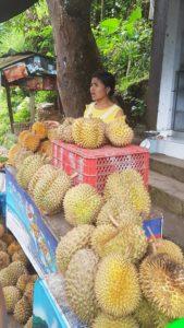 Stánek s duriany