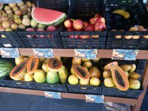 Exotické ovoce Tenerife